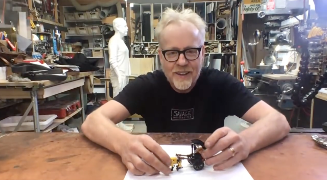 Adam Savage's Live Builds and Q&A (Sept. 14, 2020)