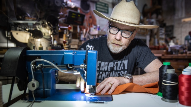 Adam Savage's One Day Builds: Restoring a Fabric Chair!