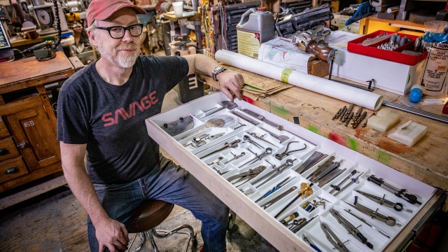 Adam Savage's One Day Builds: Drafting Tools Sorting Drawer!