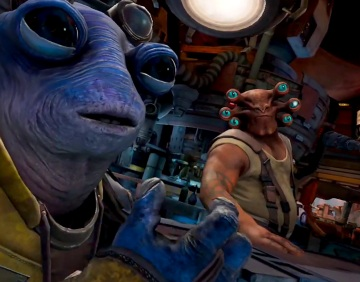 Star Wars: Tales from The Galaxy's Edge VR Review