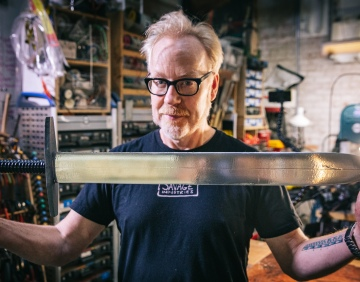 Adam Savage's One Day Builds: How To Build a $5 Sword!