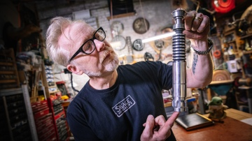 Adam Savage's One Day Builds: Luke's Lightsaber!