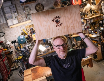 Adam Savage's One Day Builds: How to Make an Apple Box!