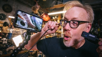 Adam Savage's Favorite Tools: Wireless Endoscope!