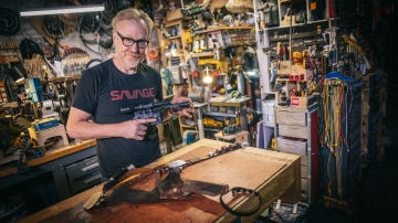 Adam Savage's One Day Builds: Han Solo's Holster Belt!