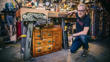 Adam Savage's New Custom Workbench!