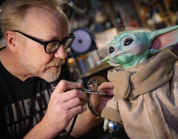 Adam Savage's One Day Builds: Baby Yoda Mod and Repaint!