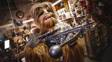 Adam Savage's Chewbacca Bowcaster Replica!