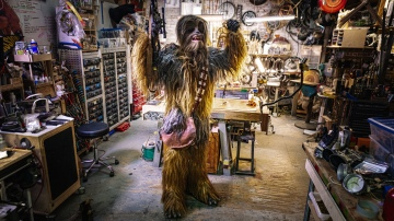 Adam Savage's One Day Builds: Chewbacca Costume Rebuild!