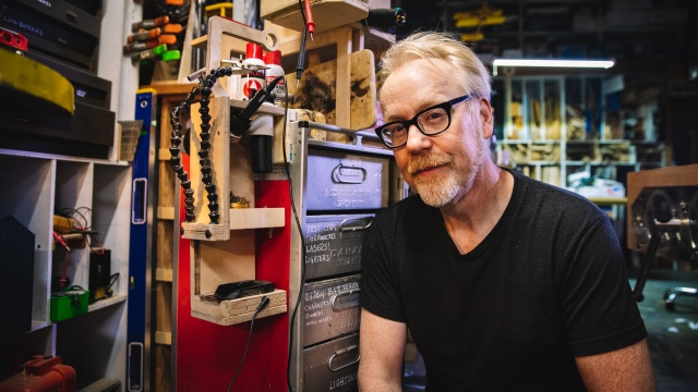 Adam Savage's One Day Builds: Electronics Tool Cart!