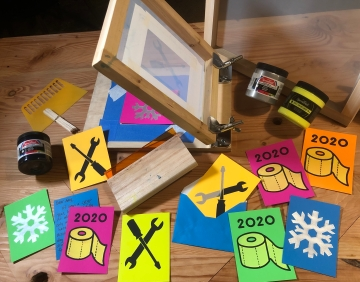 Livestream Build-A-Long: DIY Paper Screen Printing with Jen Schachter