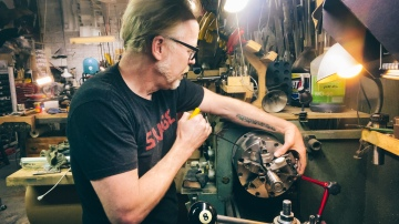 Adam Savage's One Day Builds: New Lathe Chuck!
