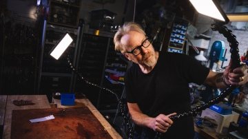 Adam Savage's One Day Builds: New Workbench Lights!