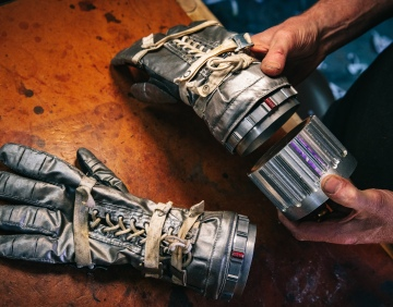 Adam Savage's One Day Builds: Spacesuit Glove Wrist Rings!