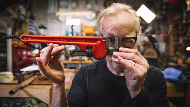 Adam Savage's Favorite Tools: Monkey Wrench!