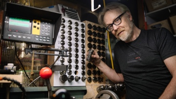 Adam Savage's One Day Builds: Lathe Collet Storage!