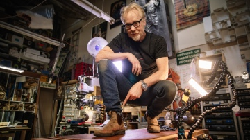 Adam Savage's Favorite Tools: Blundstone Work Boots!
