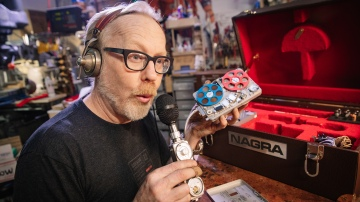 Adam Savage's Nagra Spy Recorder Collection!