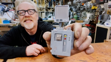 Adam Savage's Miniature Model from Star Wars: Episode 2!
