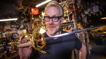 Adam Savage's Inigo Montoya Princess Bride Sword!