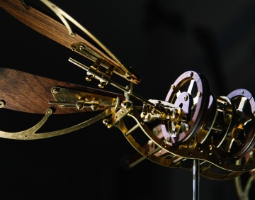 Mechanical Dragonfly Automata Kit Build and Review