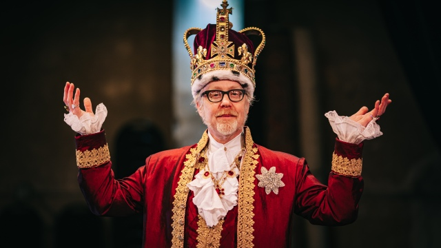 Adam Savage's King George Costume!