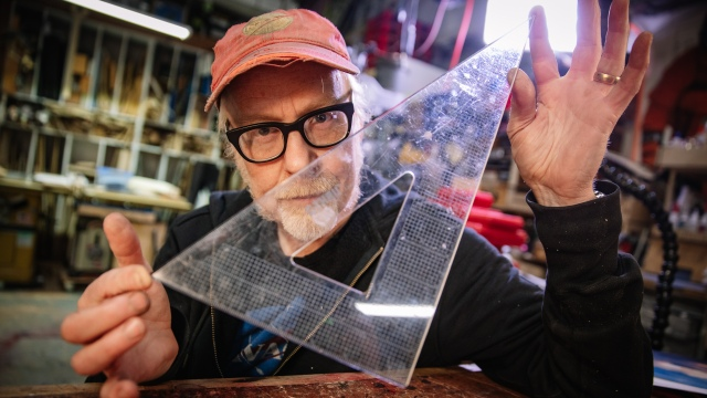 Adam Savage's Favorite Tools: C-Thru Triangle Ruler!
