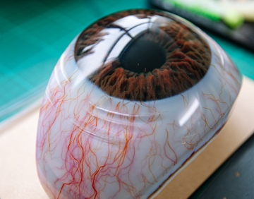 Weta Workshop's 3D-Printed Giant Eyeballs!