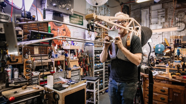 Adam Savage's One Day Builds: Velociraptor Costume, Part 2!