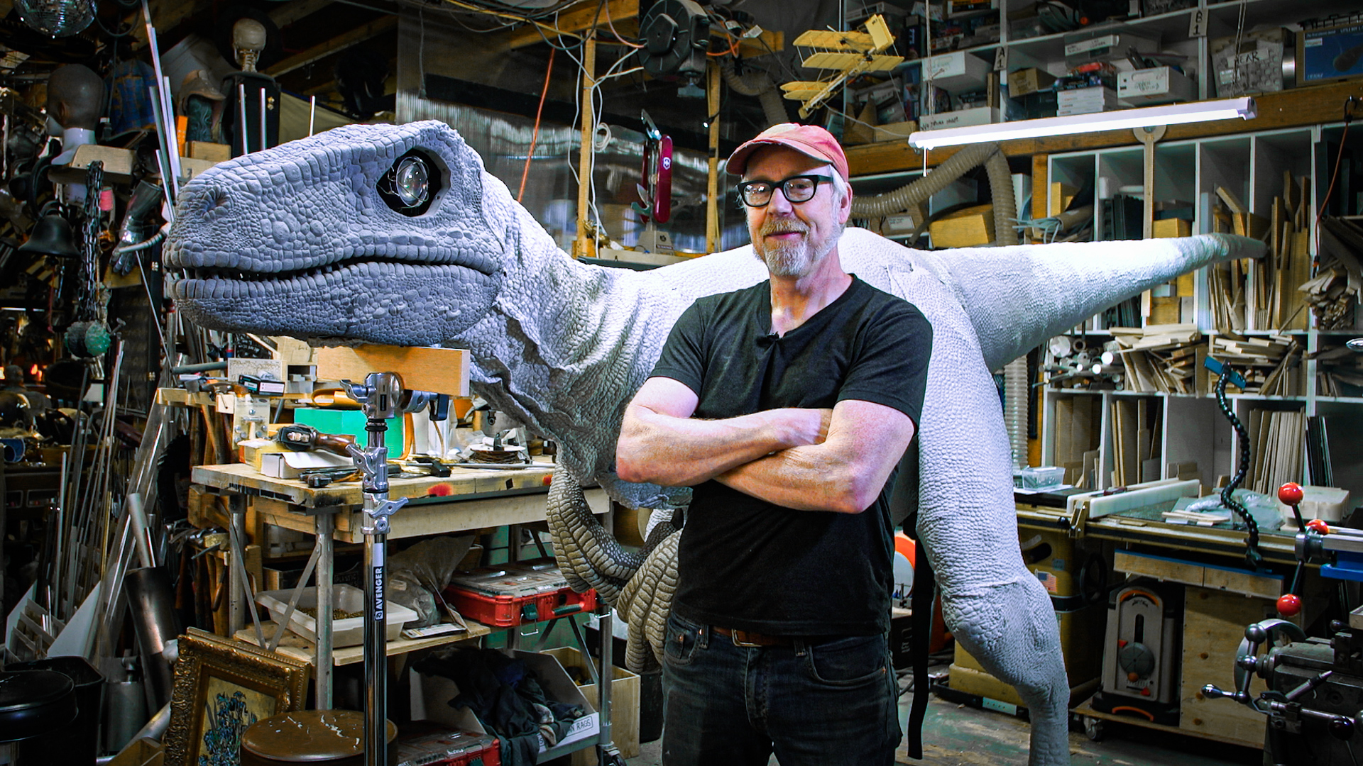 Adam Savage's One Day Builds: Life-Size Velociraptor Costume! - Tested
