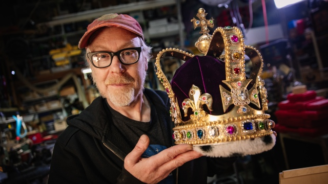 Adam Savage's One Day Builds: Remaking The Crown!