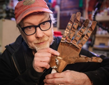Adam Savage's First Mechanical Hand Build!