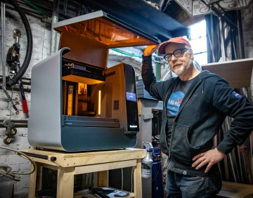 Adam Savage's One Day Builds: Form 3L Resin 3D Printer Station!