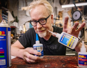 Adam Savage's Favorite Tools: Superglue and Glue Accelerators!