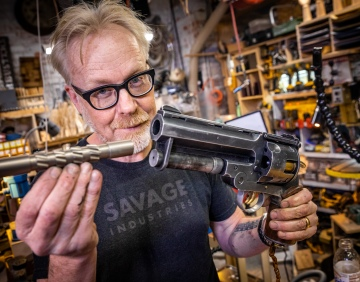 Adam Savage's One Day Builds: Hellboy Samaritan Prop Barrel Rifling!