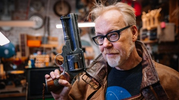 Adam Savage's One Day Builds: Hellboy Samaritan Replica Finale!
