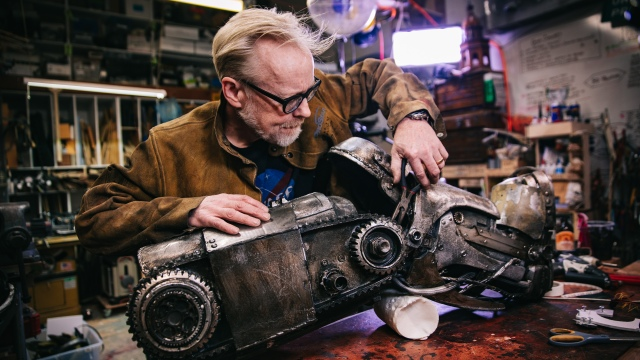 Adam Savage's One Day Builds: Iron Man Mark 1 Boots!