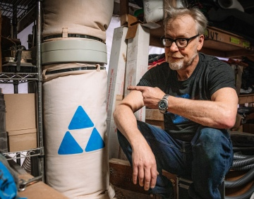 Adam Savage's One Day Builds: Shop Dust Collection System!