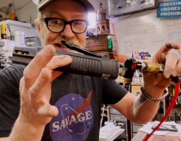 Adam Savage's Favorite Tools: Reciprocating Air Saw!