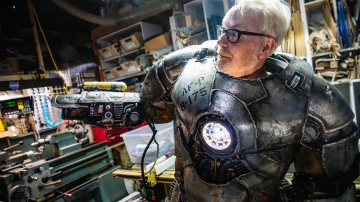 Adam Savage's One Day Builds: Painting Iron Man Armor, Part 2!