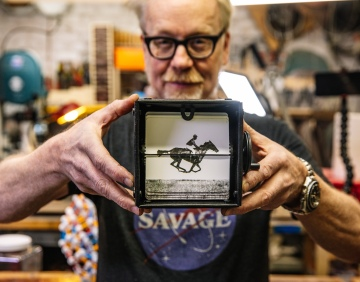 Adam Savage's One Day Builds: Galloping Horse Animation Machine!