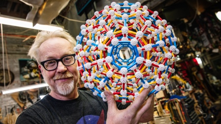 Adam Savage's One Day Builds: Hyperdodecahedron Model Kit!