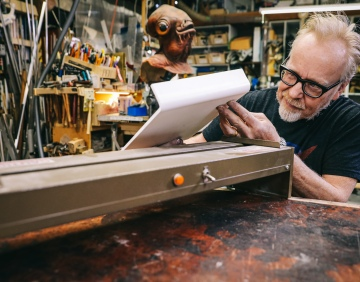 Adam Savage's Favorite Tools: Plastic Forming Strip Heater!