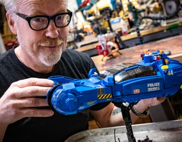 Adam Savage's One Day Builds: LEGO Blade Runner Spinner Model!
