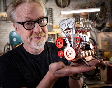Adam Savage's One Day Builds: Car Engine Model Kit!