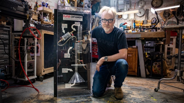 How the Mythbusters Flatus Containment Device Works!