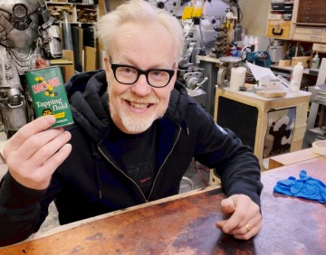 Inside Adam Savage's Cave: The Return of Moly Dee!