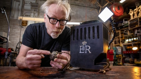 Adam Savage's One Day Builds: Queen Elizabeth's Buzzer Bell!