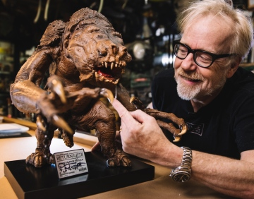 Adam Savage Rancor Maquette Statue Reveal!