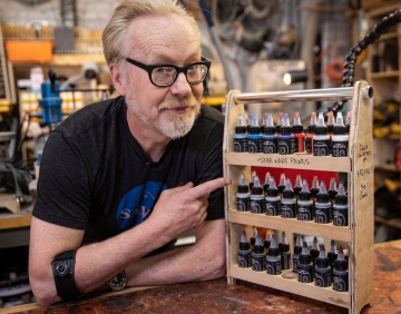 Adam Savage's One Day Builds: Star Wars Acrylic Paints Rack!
